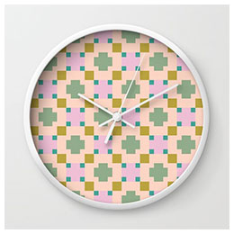 Surface-pattern---clock