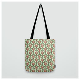 Surface pattern - totebag ornament
